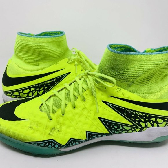 Nike Shoes | Hypervenom Neon Yellow And